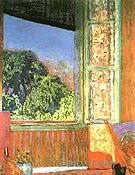 The Open Window 1921 - Pierre Bonnard