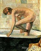 Pink Nude in the Bathtub 1924 - Pierre Bonnard