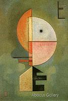 Upwards 1929 - Wassily Kandinsky