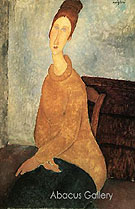 Yellow Sweater 1919 - Amedeo Modigliani