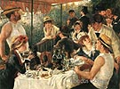 The Luncheon of the Boating Party 1881 - Pierre Auguste Renoir