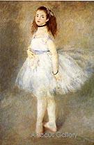 The Dancer 1874 - Pierre Auguste Renoir