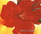 Red Amaryllis 1937 - Georgia O'Keeffe
