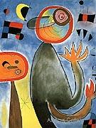 Ladders Cross the Blue Sky 1953 - Joan Miro