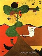 Portrait of Mrs Mills 1929 - Joan Miro