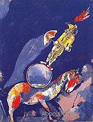 Clown on a Horse1927 - Marc Chagall