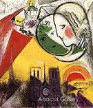 Sunday 1952-54 - Marc Chagall