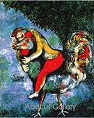 The Cock - Marc Chagall