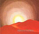 Red Hills Lake George 1927 - Georgia O'Keeffe
