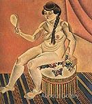Nude with Mirror 1919 - Joan Miro