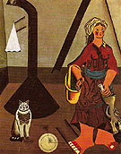 The Farmers Wife 1922 - Joan Miro