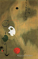 Calculation 1925 - Joan Miro
