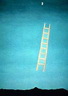 Ladder to the Moon 1958 - Georgia O'Keeffe