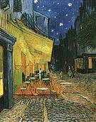 Cafe Terrace on the Place du Forum - Vincent van Gogh