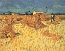 Harvest in Provence - Vincent van Gogh