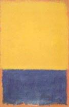 Yellow and Blue - Mark Rothko