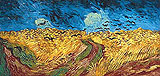 Wheatfield with Crows 1890 - Vincent van Gogh
