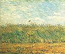 Wheatfield with Lark - Vincent van Gogh