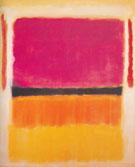 Violet Black Orange Yellow on White and Red 1949 - Mark Rothko