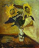 Vase of Sunflowers 1898 - Henri Matisse