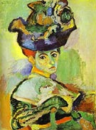 Woman with a Hat 1905 - Henri Matisse