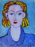 Young Woman in a Blue Blouse - Henri Matisse