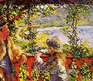 To the Edge of the Lake 1880 - Pierre Auguste Renoir