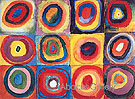 Concentric Squares and Circles 1913 - Wassily Kandinsky