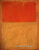 Orange and Tan 1954 - Mark Rothko