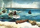 The Beach Nassau - Winslow Homer