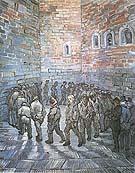 Prisoners Exercising Prisoners Round - Vincent van Gogh