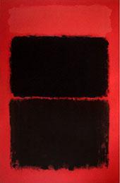 Light Red over Black - Mark Rothko
