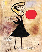 Woman in the Sun 2 - Joan Miro