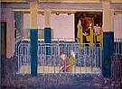 Subway Entrance 1938 - Mark Rothko