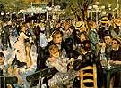 Le Moulin de la Galette 1876 - Pierre Auguste Renoir