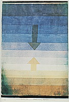 Separation in the Evening 1922 - Paul Klee