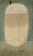 Mask of Fear 1932 - Paul Klee