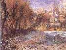 Landscape with Snow Paysage de neige - Pierre Auguste Renoir