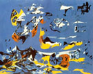 Blue Moby Dick 1943 - Jackson Pollock