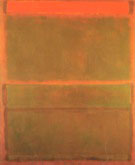 No 14 No 9 Red Over Three Browns - Mark Rothko