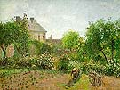 The Artists Garden at Eragny 1898 - Camille Pissarro