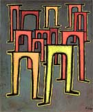 Revolution of the Viaduct 1937 - Paul Klee