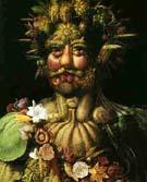 Vertumnus Rudolf II 1590 - Guiseppe Acrimboldo