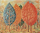 The Fire 1943 - Rene Magritte