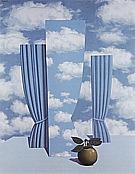 Le beau monde 1962 - Rene Magritte
