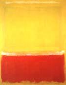 White Yellow Red on Yellow 1953 - Mark Rothko
