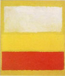 No 13 White Red on Yellow - Mark Rothko
