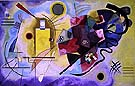 Yellow Red & Blue - Wassily Kandinsky