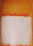 Untitled Orange White 1955 - Mark Rothko