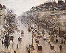 The Boulevard Montmartre on a Winter Morning 1897 - Camille Pissarro